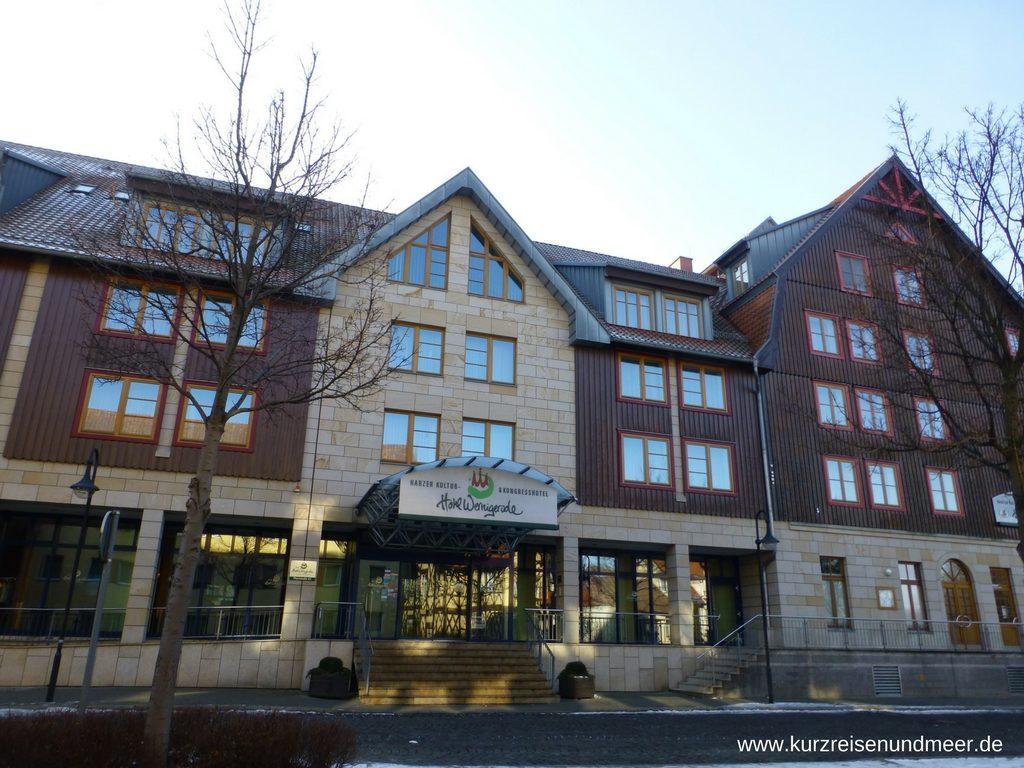 Das Bild zeigt das Hotel Wernigerode im Harz.