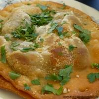 Das Bild zeigt ein typisch maltesisches Brot (Hobz-bis-zejt) (Liebster Award)