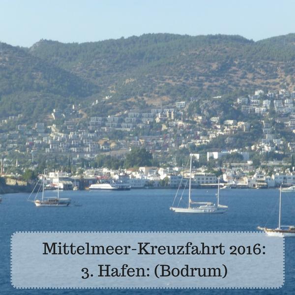 Ansicht von Bodrum mit seinen Namen gebenden weißen Häusern