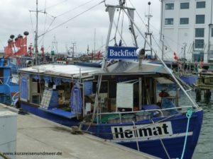 Hier kann man leckere Fischbrötchen kaufen