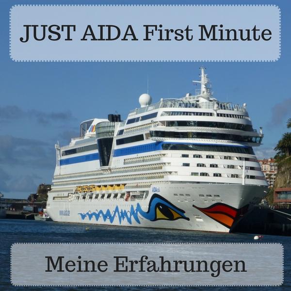 Das Bild zeigt die AIDAsol. Titel des Beitrags: JUST AIDA First Minute - Meine Erfahrungen