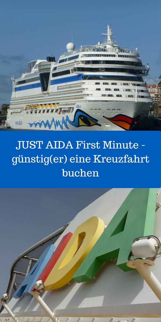 JUST AIDA First Minute - eventuell für Dich die Gelegenheit beim Buchen einer Kreuzfahrt viel Geld zu sparen...