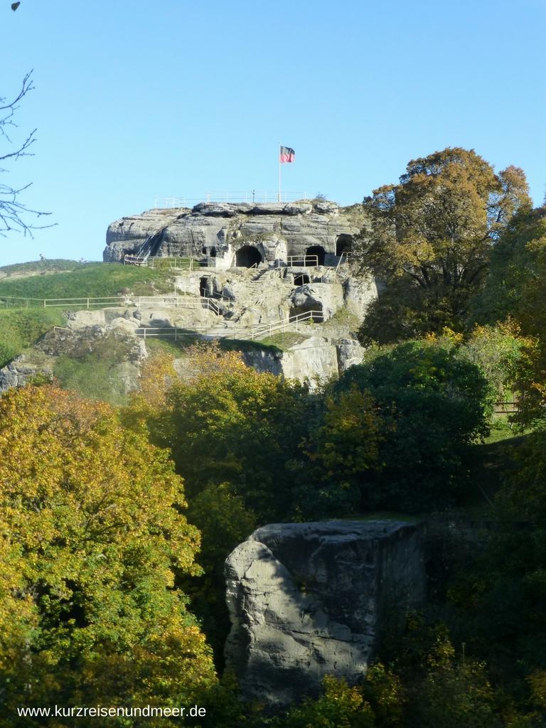 Ist die Burgruine Regenstein nicht imposant?