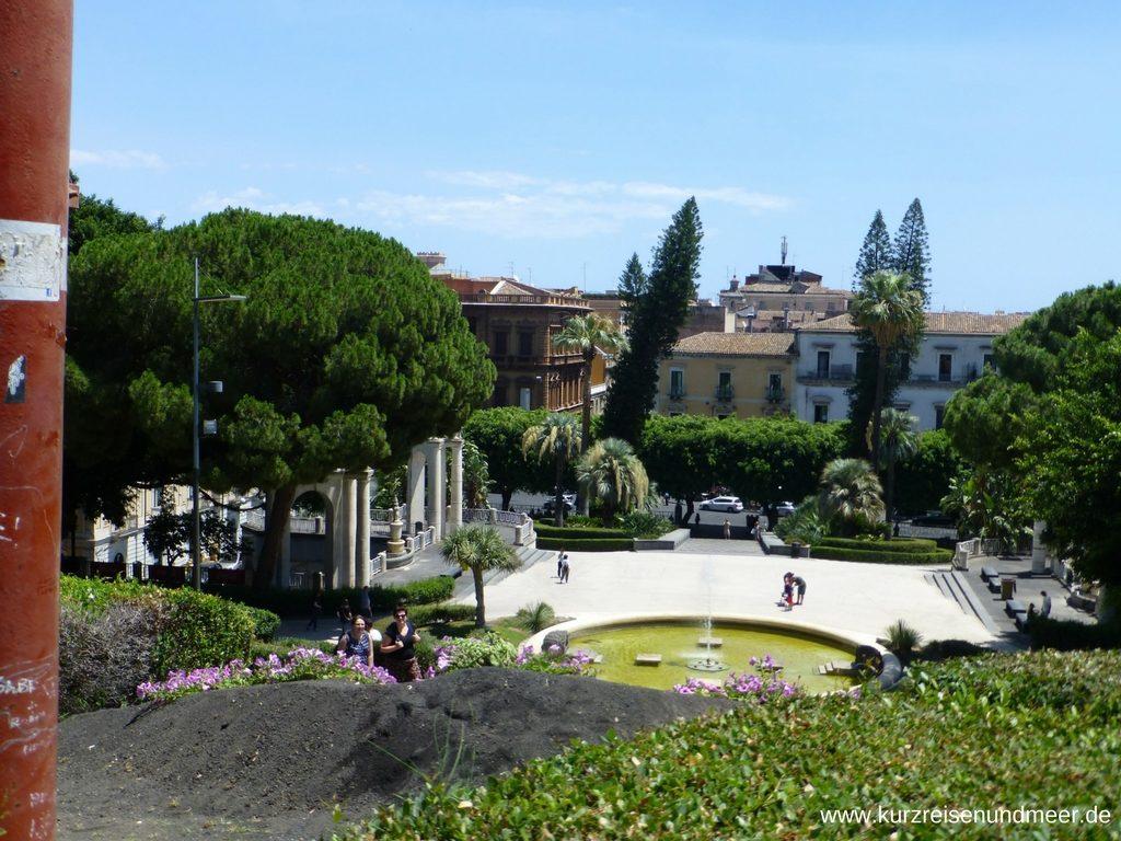 Blick von der Villa Bellini