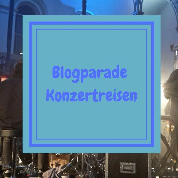 Hast Du schon einmal eine Kozertreise unternommen? War es nicht spannend, sich die Tickets zu sichern und dann die Reise zu unternehmen? Wenn ja, dann nimm doch an meiner Blogparade teil!