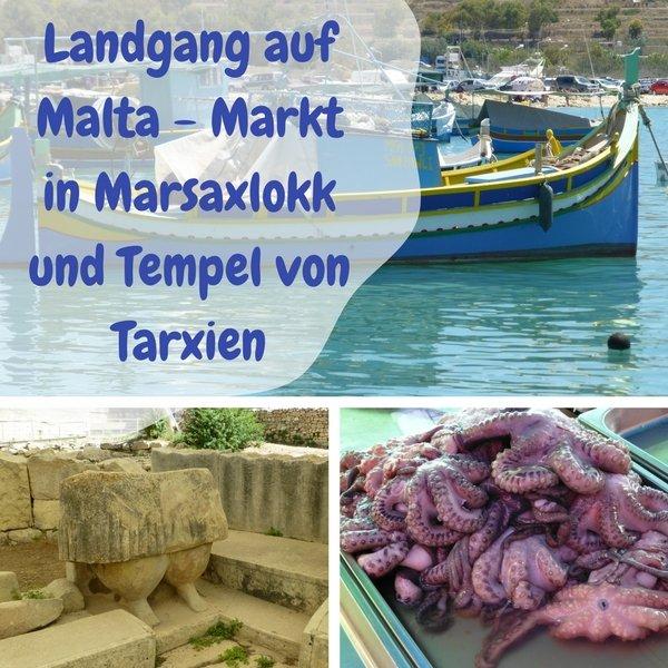 Warst Du schon einmal auf Malta? Auf meiner letzten Mittelmeer-Kreuzfahrt war ich für einen Tag dort und Habe den Markt in Marsaxlokk und den Tempel von Tarxien besucht. Auch an einem Tag kann man eine ganze Menge entdecken.