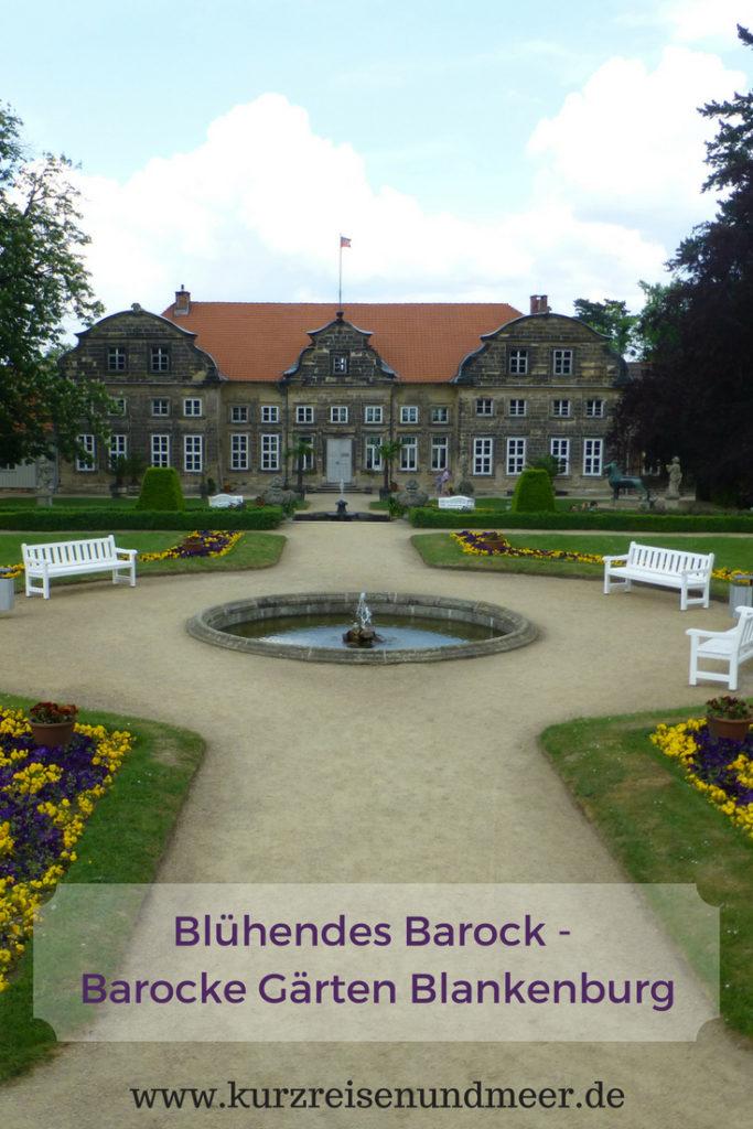 Besuchst Du gerne Gärten? Dann solltest Du Dir die Barocken Gärten Blankenburg nicht entgehen lassen!
