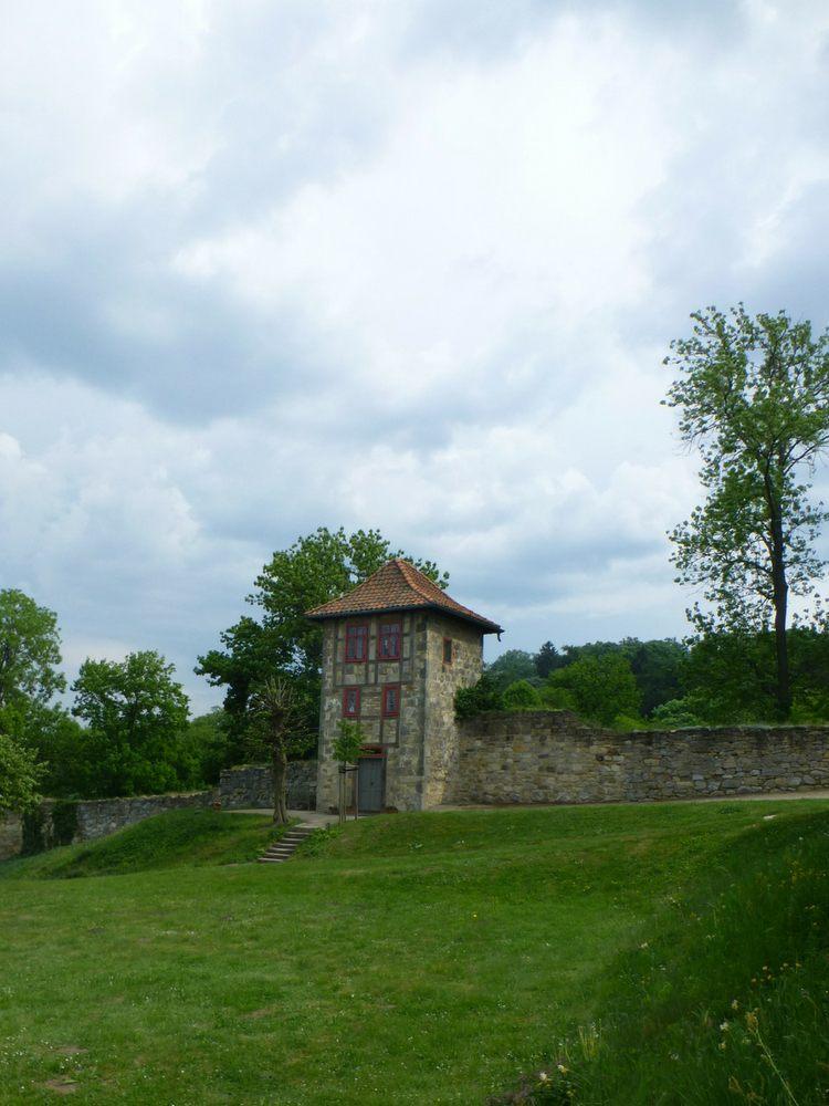 Prinzessinenturm Barocke Gärten Blankenburg