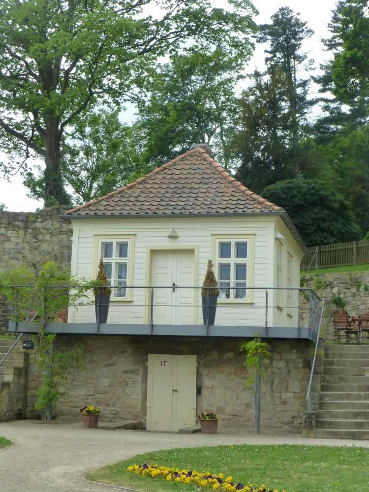 Teehaus Barocke Gärten Blankenburg