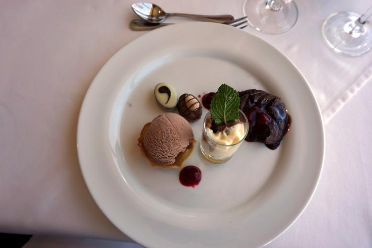 Dessert auf der MS Albatros