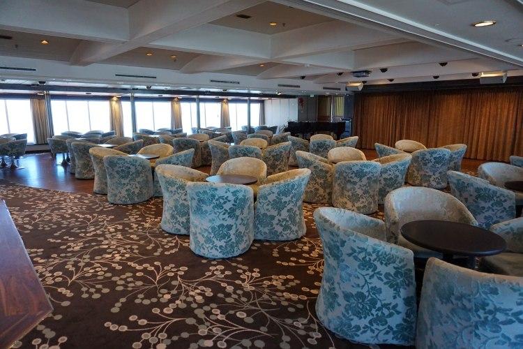 Eine der vielen Bars auf der MS Albatros