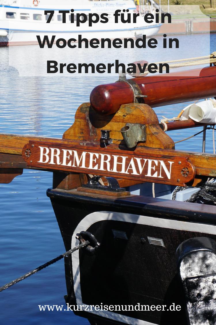 Willst Du ein Wochenende in Bremerhaven verbringen und suchst Empfehlungen, was Du Dir ansehen kannst. Dann ist dieser Blogbeitrag genau das Richtige!