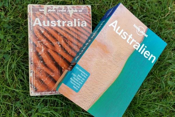 Bilder von zwei Lonely Planet Australien