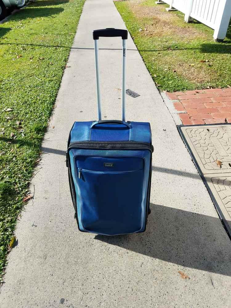 In Australien bin ich mit einem Trolley unterwegs