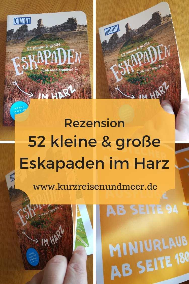 Willst Du demnächst den Harz besuchen? Oder warst schon einmal da und willst Neues kennenlernen? Dann sind die 52 Eskapaden Harz genau richtig für Dich!