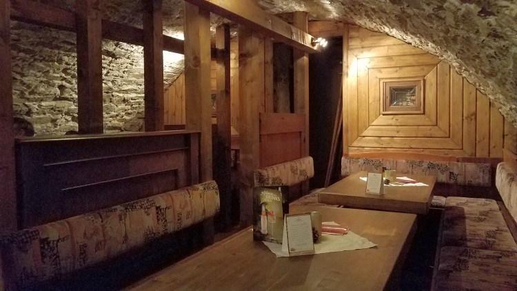 Gewölbekeller im Hotel Zum Harzer