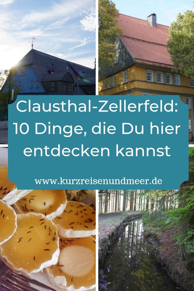 Warst Du schon einmal in Clausthal-Zellerfeld? Es lohnt sich. Hier gibt es mehr zu entdecken als man denkt.