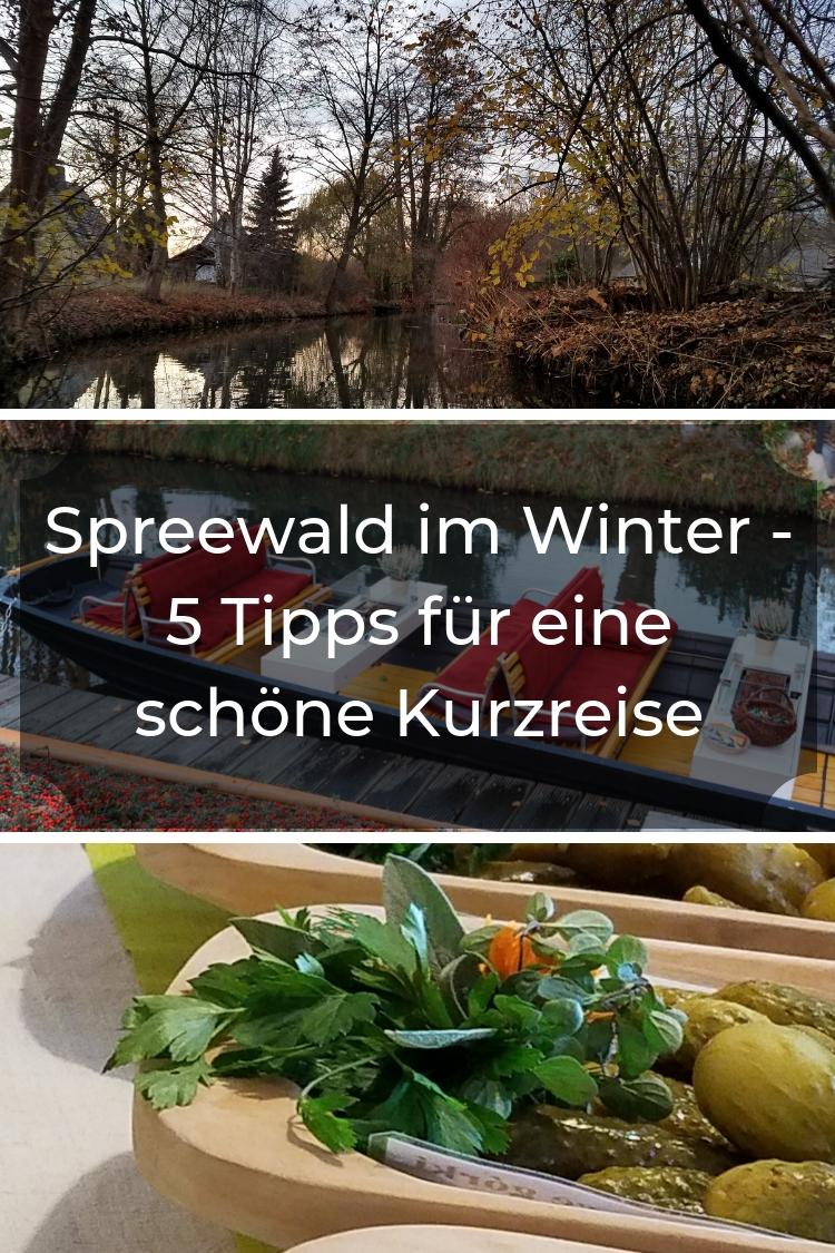 Warst Du schon einmal im Speewald? Ich habe den Spreewald zum ersten Mal im Winter besucht und gebe Dir 5 Tipps zu Sehenswürdigkeiten auch für den Sommer.