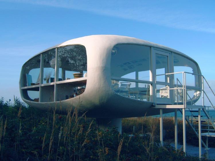Rügen Architektur Rettungsstation Binz
