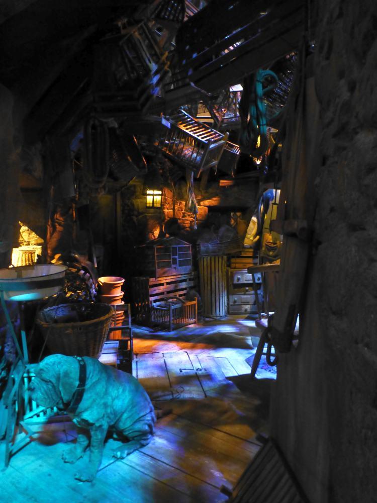 Hagrids Hütte aus Harry Potter