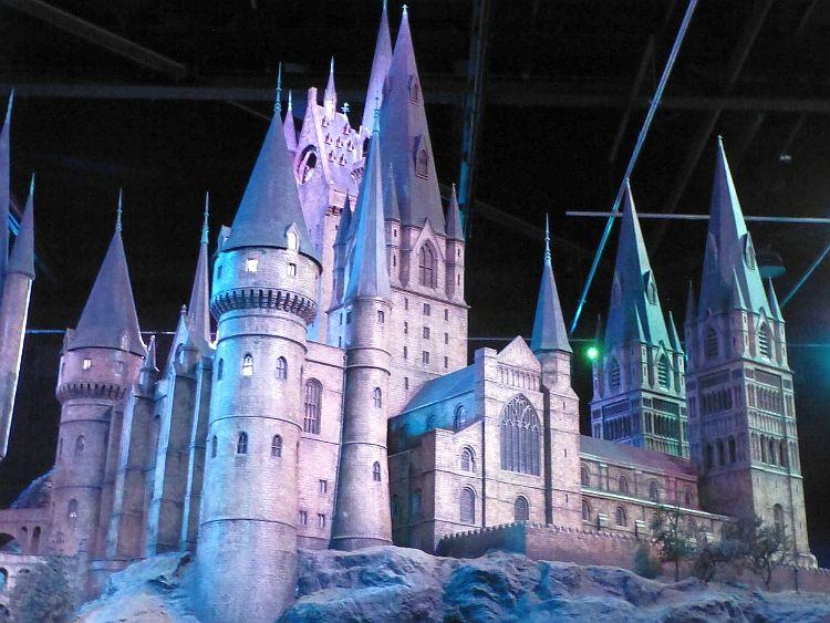 Harry Potter Studios das große Modell