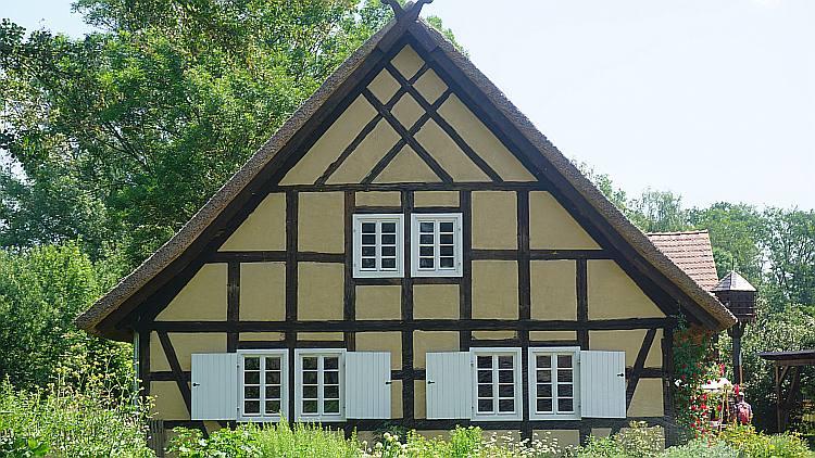 Fachwerkhaus im Freilandmuseum Lehde