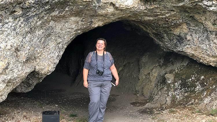 Diana von Kurzreisen und Meer vor der Vogelherdhöhle