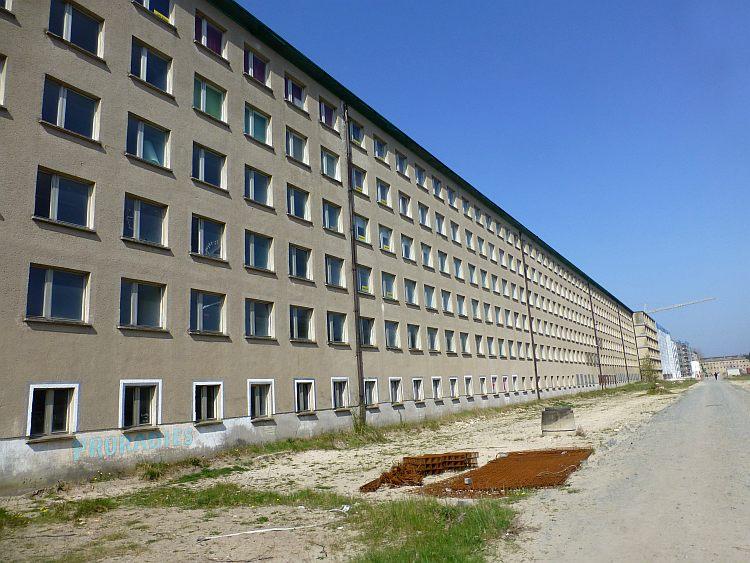 Rügen Architektur Prora nicht saniert
